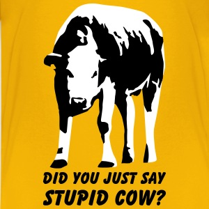 Stupid Cow? T-Shirts - Kids' Premium T-Shirt