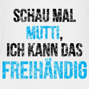 Schau mal Mutti T-Shirts - Teenager Premium T-Shirt