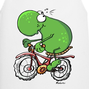 Funny Cycling Tour Frog  Aprons - Cooking Apron