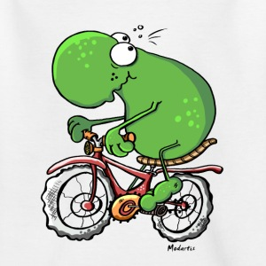 Radtour Frosch T-Shirts - Teenager T-Shirt