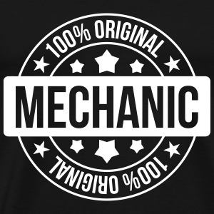 Mechanic ! T-shirts - Herre premium T-shirt