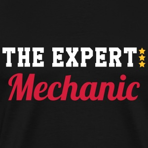 The Expert : Mechanic T-Shirts - Men's Premium T-Shirt
