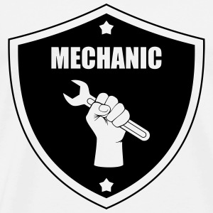 Best Mechanic T-shirts - Mannen Premium T-shirt