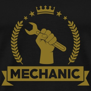 Mechanic T-skjorter - Premium T-skjorte for menn