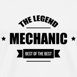 Mechanic T-shirts - Mannen Premium T-shirt
