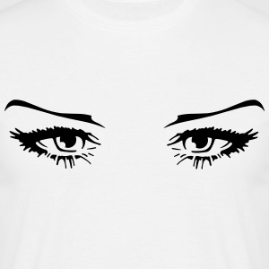 Beautiful woman eyes T-Shirts - Men's T-Shirt