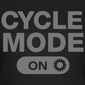 Cycle Mode (On) T-Shirts - Frauen T-Shirt