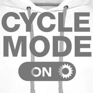Cycle Mode (On) Felpe - Felpa con cappuccio premium da uomo