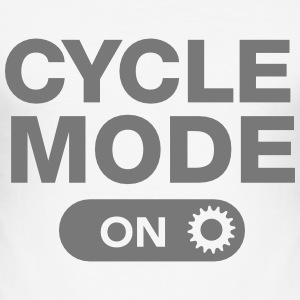 Cycle Mode (On) T-Shirts - Men's Slim Fit T-Shirt