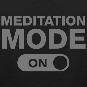 Meditation Mode (On) Tanktoppar - Premiumtanktopp herr