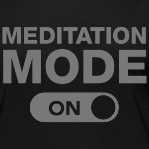 Meditation Mode (On) Langarmshirts - Frauen Premium Langarmshirt