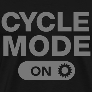 Cycle Mode (On) Magliette - Maglietta Premium da uomo