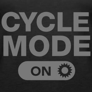 Cycle Mode (On) Tops - Women's Premium Tank Top