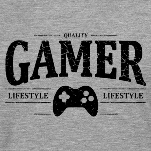 Gamer Manches longues - T-shirt manches longues Premium Homme