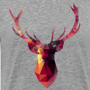 Red Stag men's grey t-shirt - Men's Premium T-Shirt