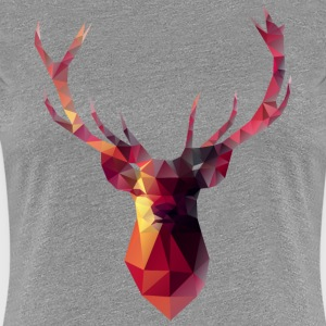 Red Stag women's grey t-shirt - Women's Premium T-Shirt