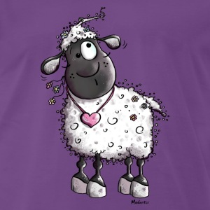 Dreamy Sheep  T-Shirts - Men's Premium T-Shirt