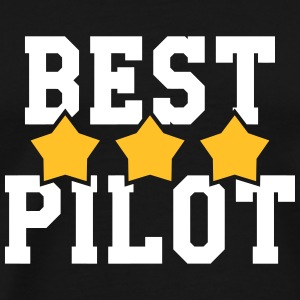Best Pilot  T-Shirts - Men's Premium T-Shirt