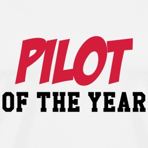 Pilot of the year T-shirts - Herre premium T-shirt