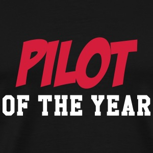 Pilot of the year T-skjorter - Premium T-skjorte for menn