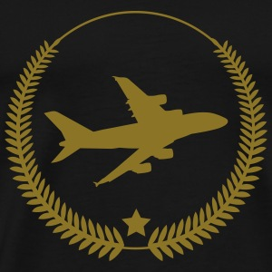 Aviation / Luftfahrt [Pilot] T-skjorter - Premium T-skjorte for menn