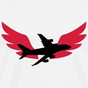 Aviation / Luftfahrt [Pilot] T-Shirts - Men's Premium T-Shirt