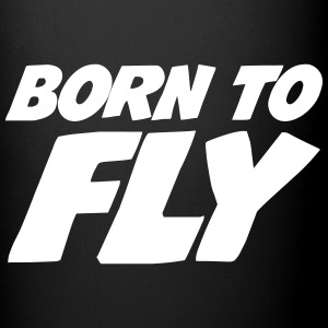 Born to fly [Pilot] Mugs & Drinkware - Full Colour Mug