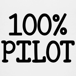 100% Pilot  T-shirts - Teenager premium T-shirt