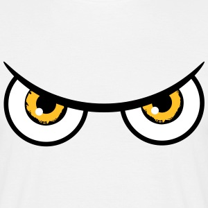 Evil eyes dangerous Owl T-Shirts - Men's T-Shirt