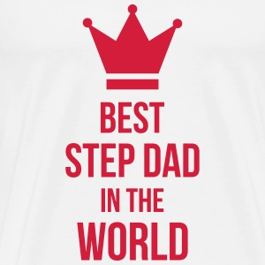 Best Step Dad in the world T-skjorter - Premium T-skjorte for menn