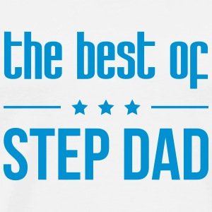 the best of Step Dad T-shirts - Herre premium T-shirt