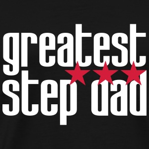 greatest Step Dad T-shirts - Herre premium T-shirt