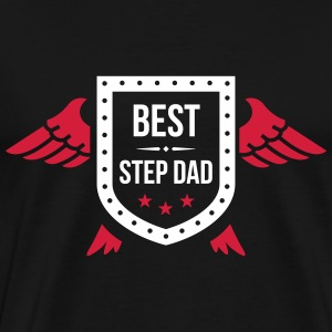 Best Step Dad T-skjorter - Premium T-skjorte for menn
