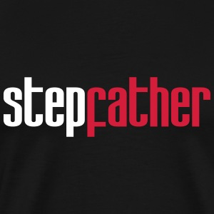 Step Dad T-skjorter - Premium T-skjorte for menn