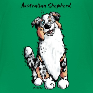 Happy Australian Shepherd Shirts - Kids' Premium T-Shirt