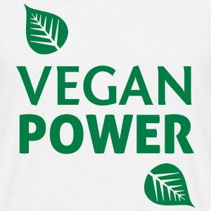 Vegan Power T-Shirts - Männer T-Shirt