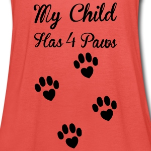 Paws Tops - Women's Tank Top by Bella