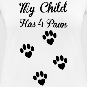 Paws T-shirts - vrouwen T-shirt ademend