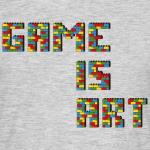 Game is art - T-shirt Homme