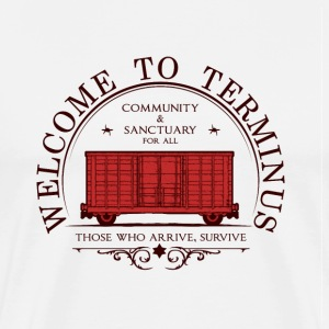 Welcome to terminus - T-shirt Premium Homme