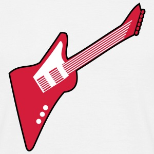 Guitar electric guitar explorer T-Shirts - Men's T-Shirt