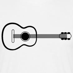 Guitar Acoustic Music Art T-Shirts