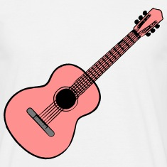 Guitar Acoustic Music T-Shirts