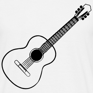 Guitar Acoustic Music T-Shirts - Men's T-Shirt
