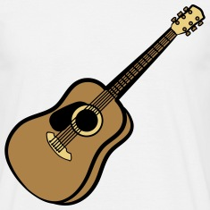 acoustic guitar T-Shirts