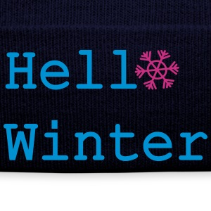 Hello Winter Winter Hat - Winter Hat