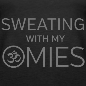 Sweating With My Omies Topper - Premium singlet for kvinner