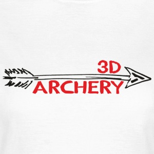 3D Archery Bogenschiessen Bogensport T-Shirts - Frauen T-Shirt