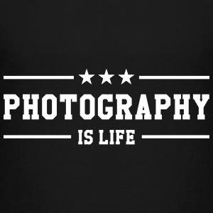 Photography is life Shirts - Teenage Premium T-Shirt