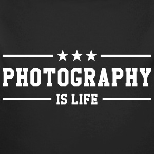 Photography is life Felpe - Body ecologico per neonato a manica lunga